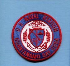 US NAVAL STATION NAVSTA GUANTANAMO BAY CUBA US Navy Base Squadron Jacket Patch