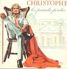 CD CHRISTOPHE - Jean-Michel JARRELes paradis perdus - Mini LP Replica CARD SLEE