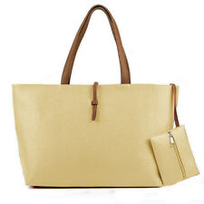 Women Shoulder Bags Satchel Tassel Casual Simple Handbag Leather Canvas Midi Bag