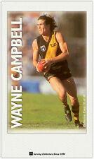 1996 Optus Vision AFL Card #10 Wayne Campbell (Richmond)