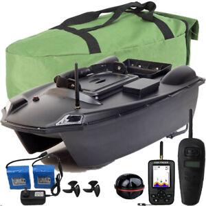 GPS Karpfen Fischerboot Köderboot Futterboot,2x10400mAh Batterie,GPS Fischfinder