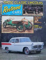 Restored Cars Magazine No 54 - 20% Bulk Magazine Discount