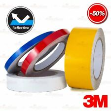 3M Reflective Various size Conspicuity PinStripe Roll Vinyl Decal Tape Stickers