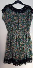 Oasis Floral Tunic Dress - Size 10
