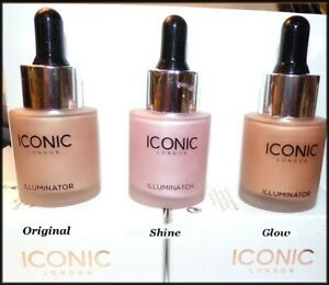 NEW ICONIC London Illuminator LIQUID Highlighter ORIGINAL/SHINE/GLOW  MSRP: $41
