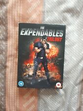 The Expendables Trilogy. Dvd. 3 Disc Set. Stallone. Statham. Schwarzenegger