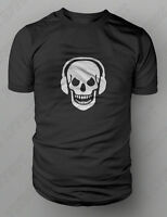 Skull And Phones DJ Clubbing Headphones T-shirt S-XXL FREE UK POST Death Zombie
