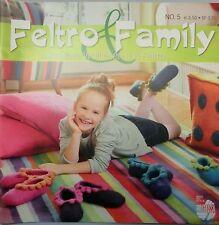 Feltro & Family No. 5, Lana Grossa:Kreativ sein mit Wolle und Waschmaschine #497