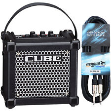 Roland Micro Cube GX Guitar Amplifier Black+Cable