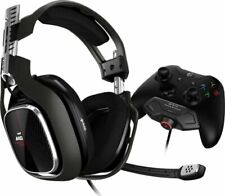 Astro Gaming - A40 TR Wired Stereo Gaming Headset with MixAmp M80 - Black