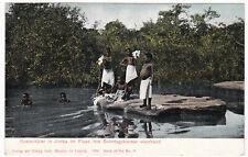 AK Deutsch-Südwest-Afrika Kostschüler in Jimba im Fluß Sonntagskleider Kolonien