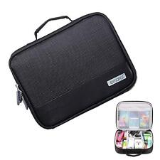 Black Men Travel Insert Handbag Organiser Large Liner Organizer Tidy Bag Case UP