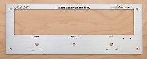 New! Marantz Model 510 Amplifier Front Panel Faceplate (Face Plate)