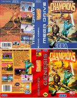 - Eternal Champions Mega Drive PAL NTSC Replacement Box Art Case Cover Only