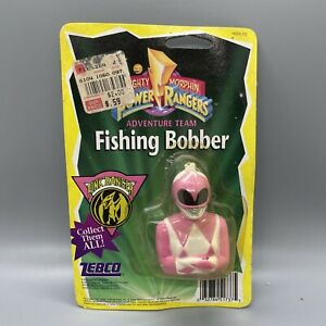 VINTAGE Mighty Morphin Power Rangers Pink Ranger Fishing Bobber ZEBCO 1995 NOS