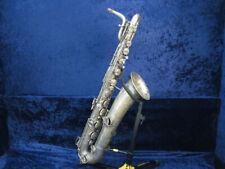 Vintage Selmer New York Silver Baritone Saxophone Ser#53828 NonPlaying Condition