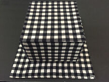 Thom Browne Style BIG Square Hat Marcus Brothers Black & White Checkered Flannel