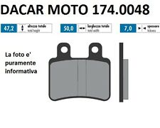 174.0048 PLAQUETTE DE FREIN ORIGINAL POLINI PEUGEOT SATELIS 125 Compresseur