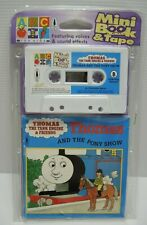 ABC for Kids Mini book and Tape Thomas and the Pony Show 1998 Sealed FREE POST