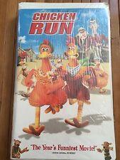 Dreamwork's CHICKEN RUN Movie Clamshell VHS NIP