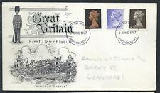 La Grande-Bretagne FDC 1/9, 1/-, 4d - Windsor Berks 5 juin 1967