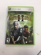 Lord of the Rings: The Battle for Middle-earth II (Xbox 360, 2006) COMPLETE L@@K