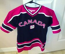 Teepee Team Canada Hockey Jersey Sewn Stitched Youth Size L Large 14/16