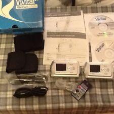 2x Vivitar Vivicam 3105s fotocamere digitali