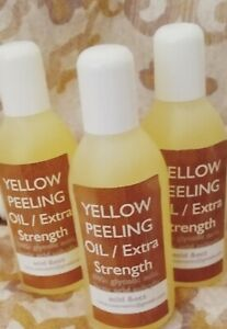 yellow peeling oil / extra strength  (170 Ml )  6.5 oz NEW SIZE
