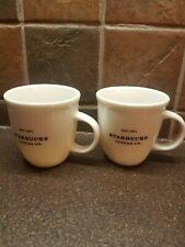 Pair Starbucks Cups