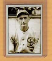 Shoeless Joe Jackson Chicago Black Sox signature card Plutograph serial # /200
