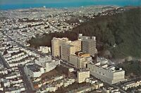CA San Francisco 1966-71 UNIVERSITY OF CA MEDICAL CENTER Aerial 6x9 postcard