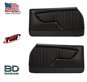 Custom Made Molded Sport Door Panels For 1970 - 1972 Chevrolet Chevelle's