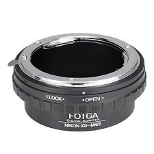 FOTGA Adapter For Nikon G AF-S Lens To Micro 4/3 M4/3 EPL5 EP5 GH1 GH3 GH4 GF5