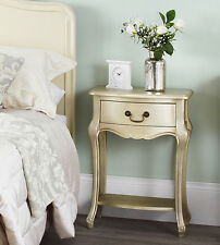 JULIETTE Gold Bedside Table,FULLY ASSEMBLED stunning bedside cabinet, hall table