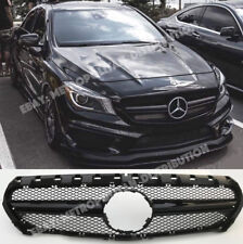 Mercedes CLA X/C117,2013-16,AMG CLA45 NIGHT EDITION look,sport grill,gloss black