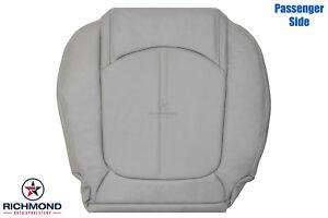 2007-2012 GMC Acadia SLT SLT-1-2 -Passenger Side Bottom LEATHER Seat Cover Gray