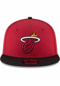 Miami Heat New Era NBA  9Fifty Adult Cap Snapback M/L Hat NWT