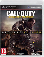 Call of duty advance warfare PS3 * en excellent état *
