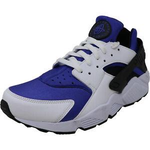Nike Men's Air Huarache Run SE  Running Shoes ~Persian/Violet/black ~ New in Box