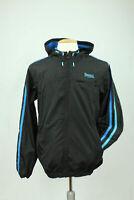Lonsdale London Trainingsjacke Windbreaker Herren Gr. S Schwarz blau Casuals