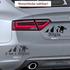 """""""Allgäu"""" Autocollant-Bavière MONTAGNE SKI ALPES alpinisme Alm auto-Sticker Décalque"""