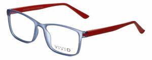 Calabria Vivid Designer Reading Glasses 241 in Blue-Red 53mm