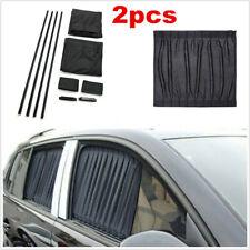Pair Car Accessories Sunshade Side Window Foldable Visor Sun Shade Cover Block