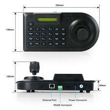 3D Pan/Tilt PTZ Zoom Controller Joystick Keyboard RS-485 for CCTV Camera DVR  SD