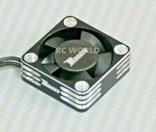 1/10 COOLING FAN Heat Sink Max Speed Aluminum Lightweight High Air Flow BLACK