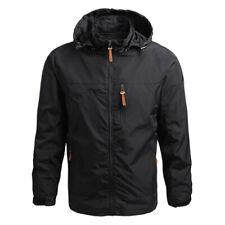 Mens Quick-drying Thin Outdoor Jacket Waterproof Windproof Comfortable Soft