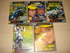 5 DVD OFFICIAL UFFICIALI MOTOMONDIALE MOTOGP MOTO GP 2004 VALENTINO ROSSI VALE