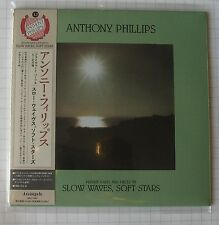 ANTHONY PHILLIPS - Slow Waves Soft Stars JAPAN MINI LP CD OBI NEU! ARC-7245