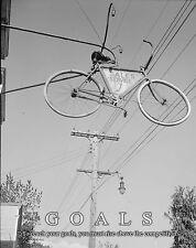 Bicycle Motivational Poster Art Print Vintage Bike Parts Service Repair MVP349